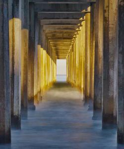 La Jolla Pier II by William Neill