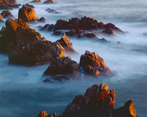 Rocks and Surf by William Neill