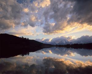 Teton Sunset I by William Neill