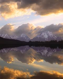 Teton Sunset II by William Neill