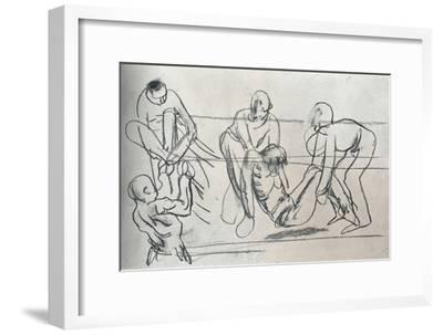 Sketch by Sir William Orpen, C1914 (1932)