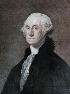 George Washington, First President of the United States, C1798 by William Nutter