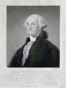 Portrait of George Washington, 1798 by William Nutter