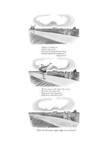 New Yorker Cartoon by William O'Brian