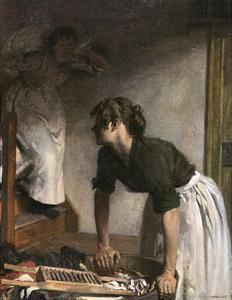 In the Wash-House by William Orpen