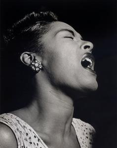 Billie Holiday by William P^ Gottlieb