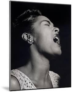 Billie Holiday by William P^ Gottlieb