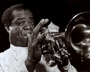 Louis Armstrong by William P^ Gottlieb