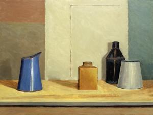 Blue Jug Alone by William Packer