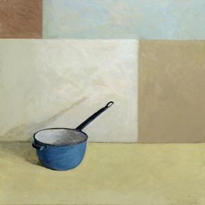 Blue Saucepan by William Packer