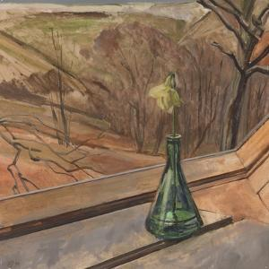 Green Bottle & Daff, 1994 by William Packer