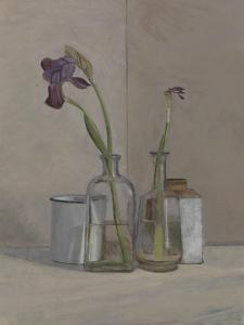 Irises White Cans, 2006 by William Packer