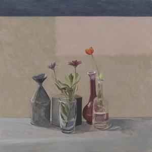 Orange Poppy - Bottles Cans, 2008 by William Packer