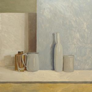 Pale Grey and Blue by William Packer