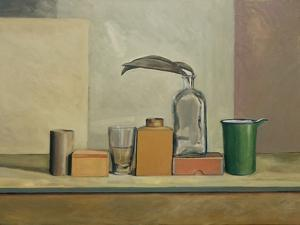 Still Life with Passion Pods by William Packer