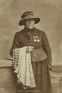 Mary Wheatland, Bognor's Celebrated Bathing Woman, C.1900 by William Pankhurst Marsh