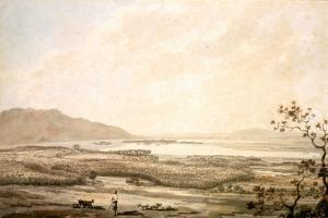 Killarney from the Hills Above Muckross by William Pars