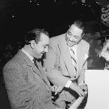 Django Reinhardt at the Aquarium in New York City, 1946-William Paul Gottlieb-Photographic Print