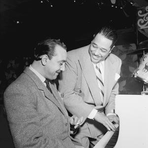 Django Reinhardt at the Aquarium in New York City, 1946 by William Paul Gottlieb