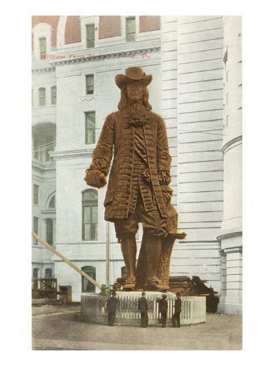 William Penn Statue, Philadelphia, Pennsylvania--Art Print