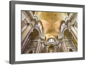Basilica of Saint Mary Angels and Martyrs, Rome, Italy. Church designed by Michelangelo. by William Perry