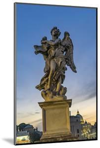 Bernini's Angel, Castel Ponte Sant Angelo Vatican, Rome, Italy. by William Perry