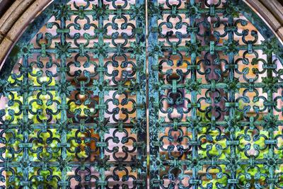 Iron Bronze Gate, Yale University, New Haven, Connecticut.