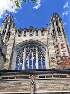 Sterling Law School Building, Yale University, New Haven, Connecticut. Completed in 1931 and one of by William Perry
