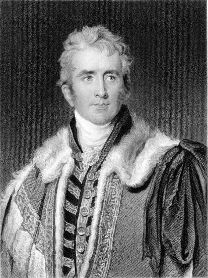 William Pitt Amherst, 1st Earl Amherst of Arracan (1773-185), British Statesman-Thomas Lawrence-Giclee Print