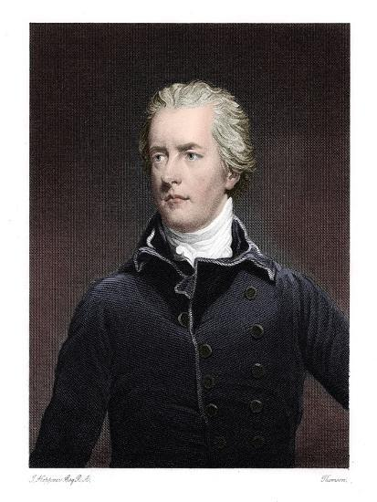 William Pitt the Younger, British statesman-Unknown-Giclee Print
