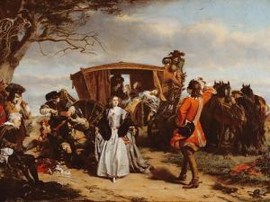 Claude Duval, Illustration from 'Macaulay's History of England' by William Powell Frith
