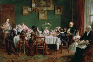 Many Happy Returns of the Day, 1856 by William Powell Frith