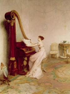 'Music When Soft Voices Die, Vibrates in the Memory' (Shelley) by William Quiller Orchardson