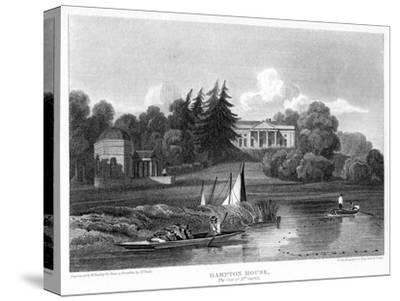 Hampton House, the Seat of Mr Garrick, Hampton, Richmond Upon Thames, London, 1815