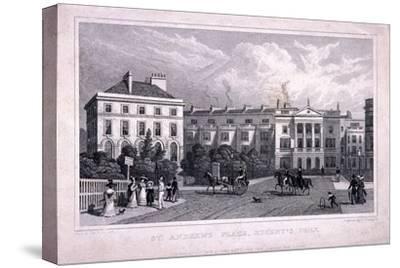 St Andrew's Place, Regent's Park, Marylebone, London, 1828