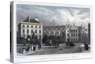 St Andrews Place, Regent's Park, London, 1828