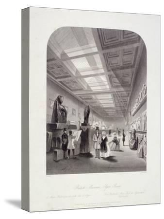 The Elgin Room, British Museum, Holborn, London, C1850