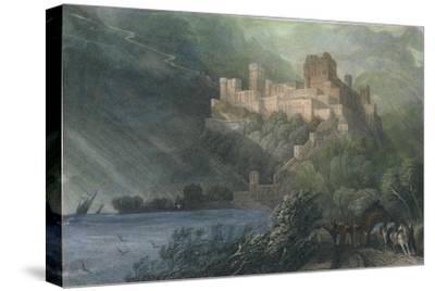 The Ruins of Rheinfels, 1834