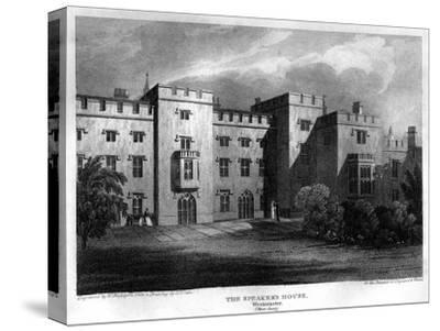 The Speaker's House, Westminster, London, 1815