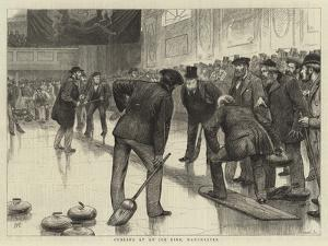 Curling at an Ice Rink, Manchester by William Ralston