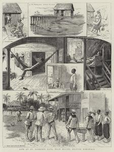 Life at St George's Caye, Near Belize, British Honduras by William Ralston