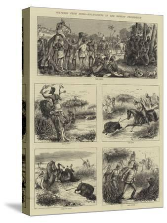Sketches from India, Hog-Hunting in the Bombay Presidency