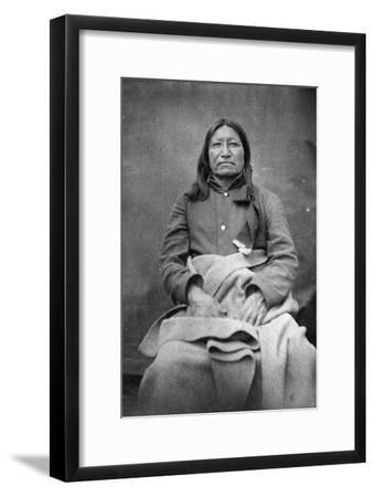 Spotted Tail, Sioux Chief, C.1870
