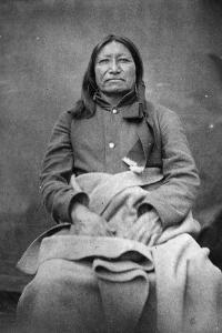 Spotted Tail, Sioux Chief, C.1870 by William Richard Cross