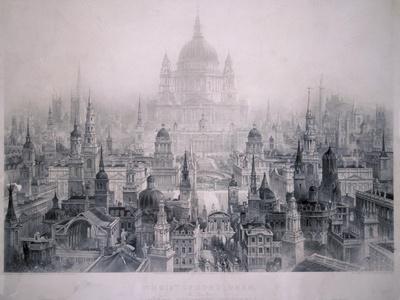 Dream City of Christopher Wren's Buildings, 1842