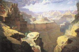 Grand Canyon, 1911 by William Robinson Leigh