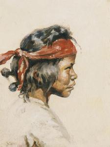 Indian Boy by William Robinson Leigh