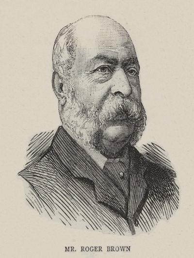 William Roger Brown--Giclee Print