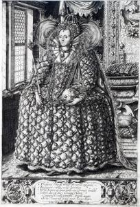 Portrait of Queen Elizabeth I by William Rogers