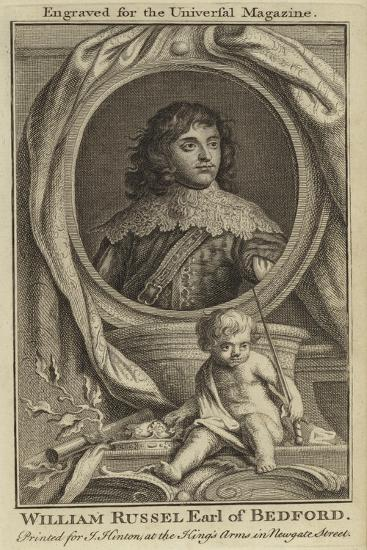 William Russel, Earl of Bedford--Giclee Print